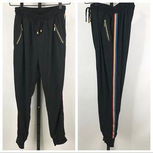Indero Rainbow Stripe L/XL Joggers
